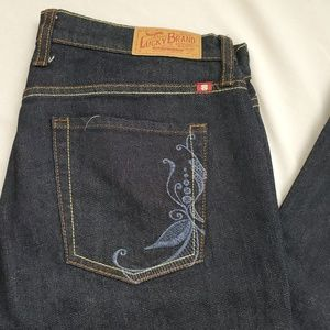 Lucky by Gene Montesano • Darkwash Bootcut